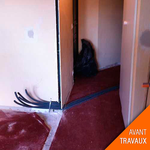 Travaux de rénovation appartement
