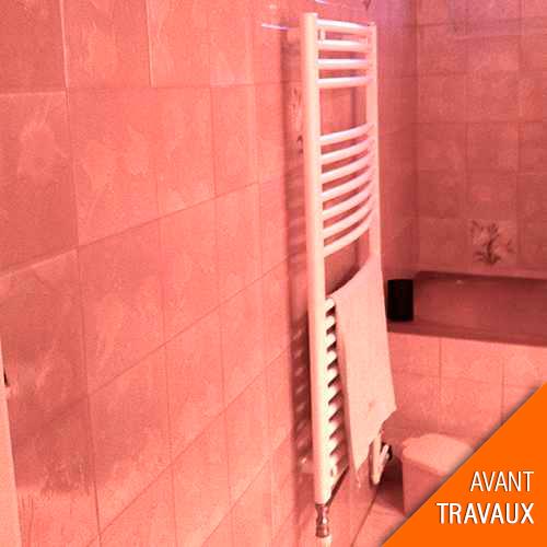Travaux de r novation d une salle bain dans un appartement for Travaux dans un appartement