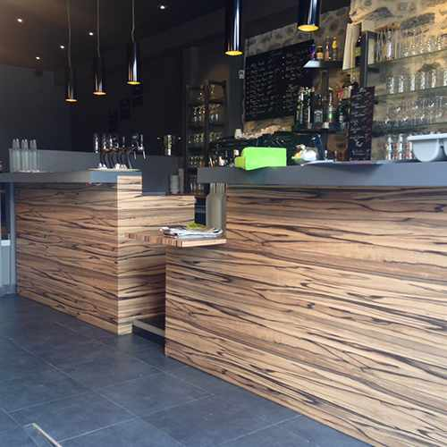 travaux de transformation bar brasserie